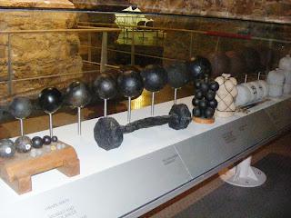 Histoire du boulet de canon boulets ramés