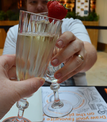 Our Guide to Family Restaurants & Children's Menus at intu Metrocentre - Prosecco from Ask