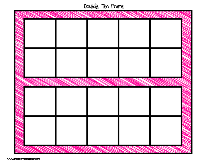 Free Double Ten Frame Worksheets For Kindergarten - 6 best ...