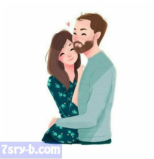 صور حب كرتون أجمل رسومات حب بنات وشباب ومتزوجين صور رومانسية رسم