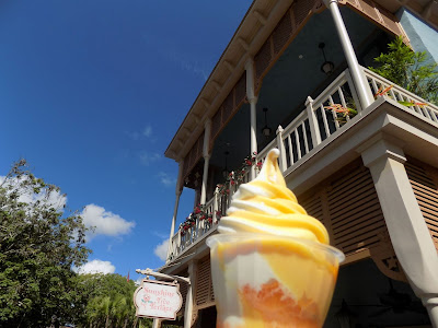 Orange Dole Whip Float