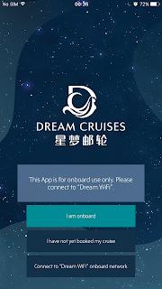 dream cruise app