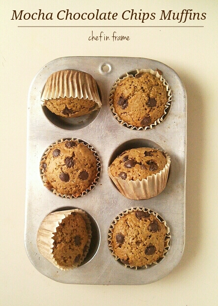 Mocha Chocolate Chips Muffins