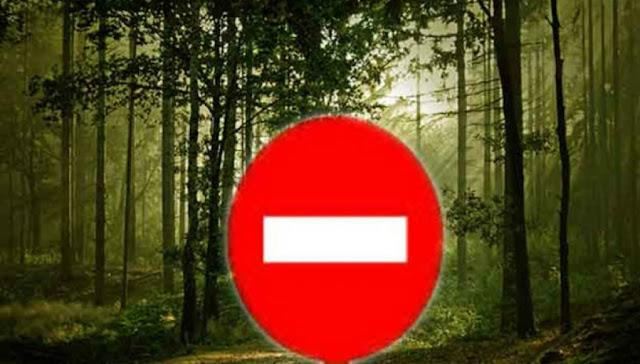Απαγόρευση κυκλοφορίας σε δάση και ευπαθείς περιοχές της Αργολίδας για την Παρασκευή 10 Αυγούστου
