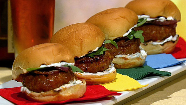 How to Make Sliders Recipe Follows