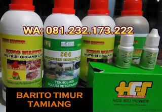 Jual SOC HCS, KINGMASTER, BIOPOWER Siap Kirim Barito Timur Tamiang