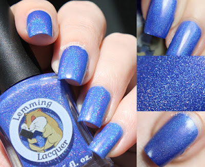Lemming Lacquer Nothing Was Ever Accomplished With Tears | A Very Merry Un-Birthday Collection