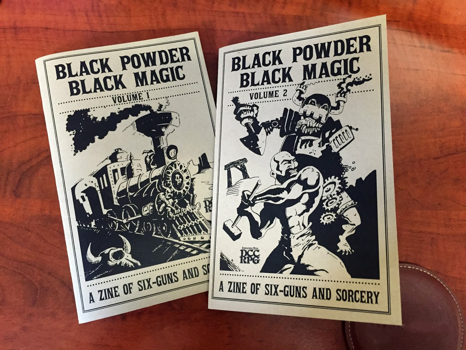 Tenkar's Tavern: Review of Black Powder Black Magic, a DCC