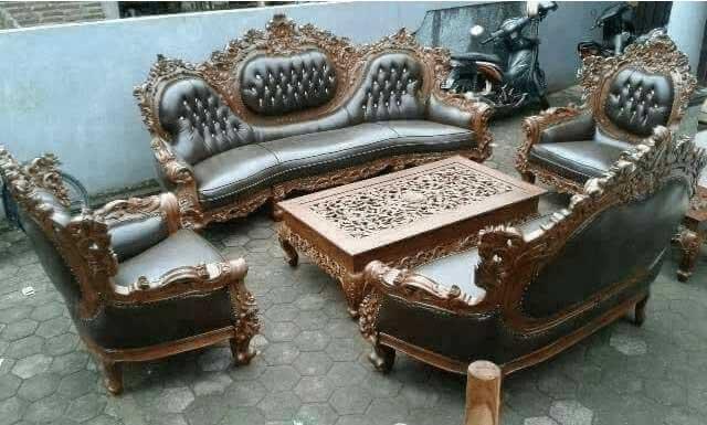 sofa kursi tamu jati jepara