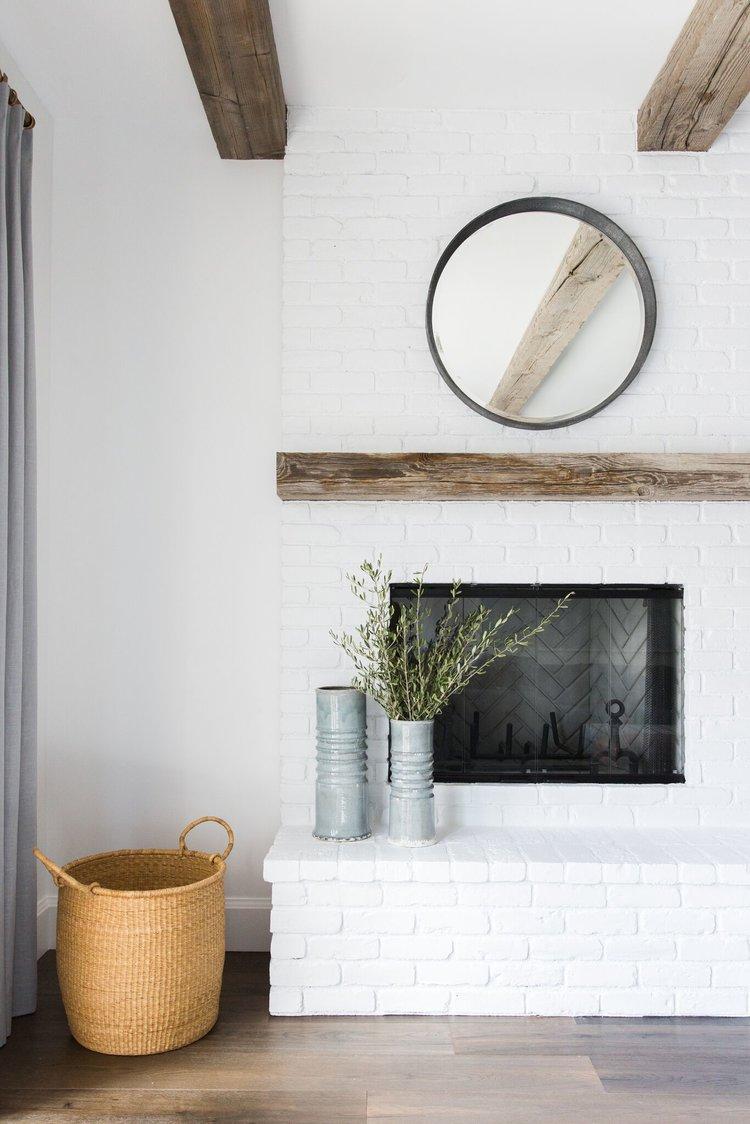chimenea-decoración-de-interiores-