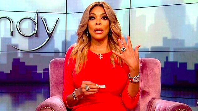 wendy williams addresses husbands cheating allegations flashes wedding ring watch - Wendy Williams Wedding Ring