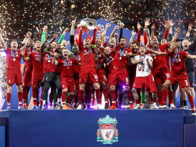Menang 2-0 dari Tottenham Hotspur, Liverpool Angkat Trofi Liga Champions 2018 2019