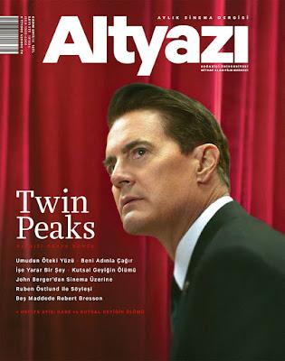 Altyazı 177. Sayı (Kasım) - Twin Peaks - Kyle MacLachlan