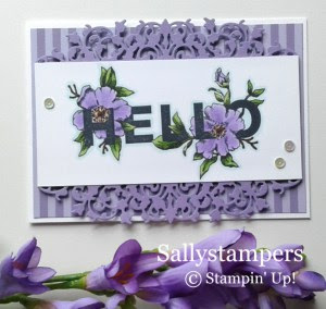 Floral Statements from Stampin Up