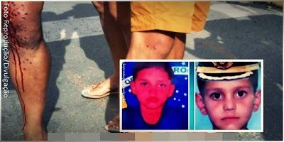 População tenta linchar suspeito de matar e estuprar irmãos de 8 e 10 anos no Ceará; veja o vídeo