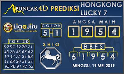 PREDIKSI TOGEL HONGKONG LUCKY7 PUNCAK4D 19 MEI 2019