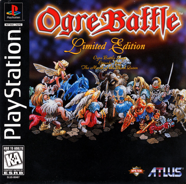 Ogre Battle The March Of The Black Queen Psx Iso