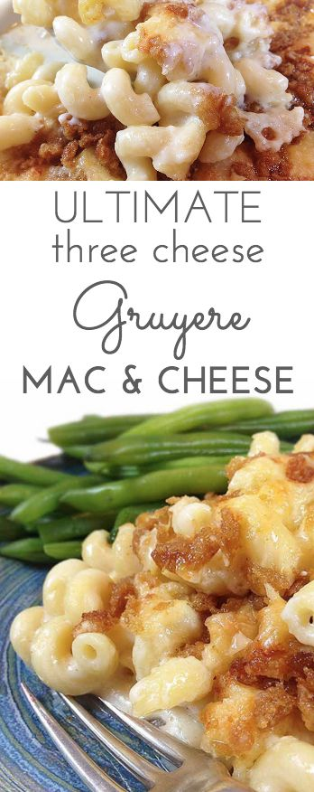 KETO ULTIMATE THREE CHEESE GRUYERE MAC & CHEESE