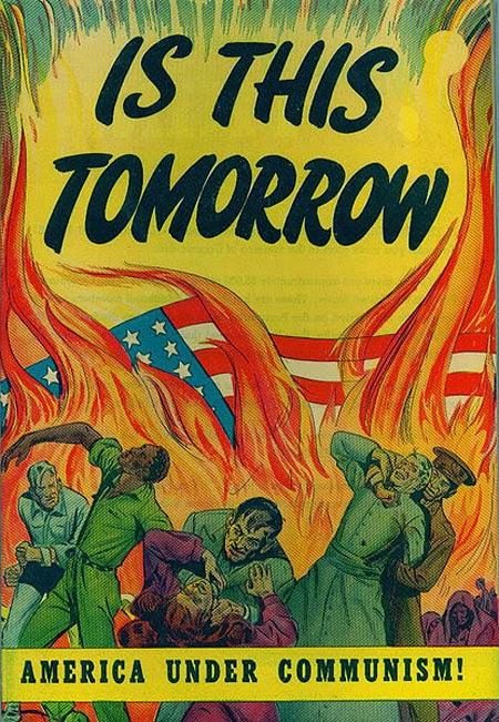 America Under Communism Propaganda