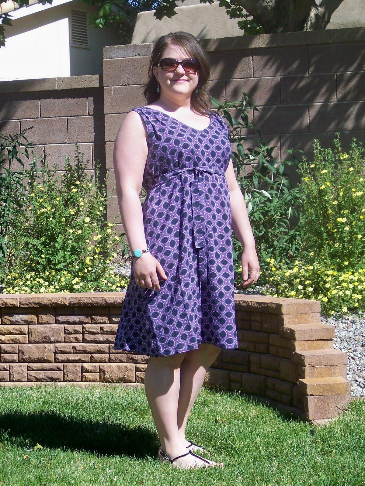 Byrdie Couture Pattern Review Burda 7376 Dress