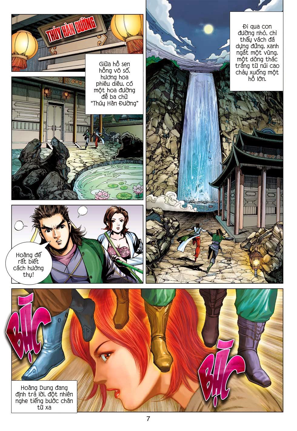 Anh Hùng Xạ Điêu anh hùng xạ đêu chap 56: tuyệt tình vô nghĩa lãnh huyết ác niệm trang 7
