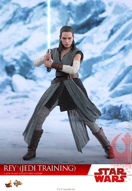 Rey Jedi Training Outfit 1/6 de Star Wars Episode VIII: The Last Jedi - Hot Toys