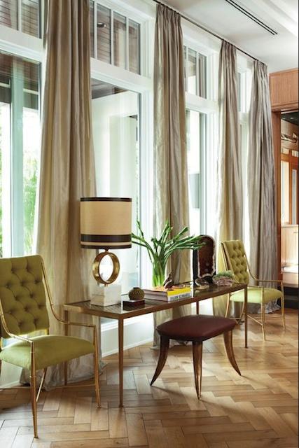 Rooms with chevron and herringbone floor ideas