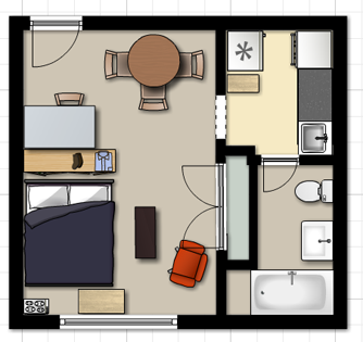 Living in 272 Square Feet