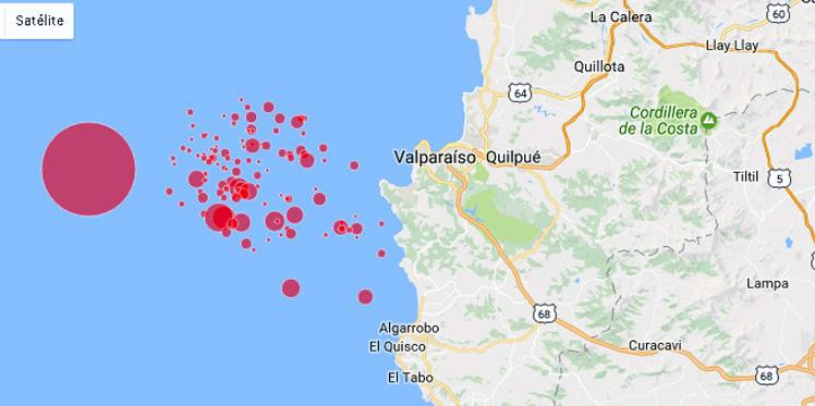 Algarrobo digital mapa la actividad s smica de las for Centro del algarrobo