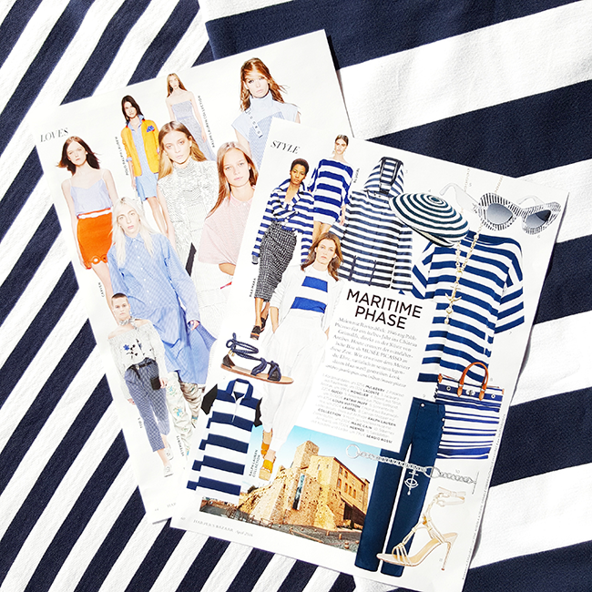 Stripes, Jerseys, Streifen, Harpers Bazaar