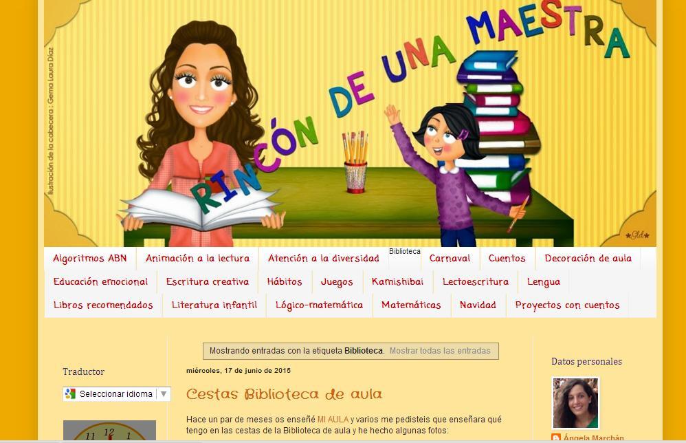 La conquista de las palabras blog rinc n de una maestra - El rincon azul de angela ...