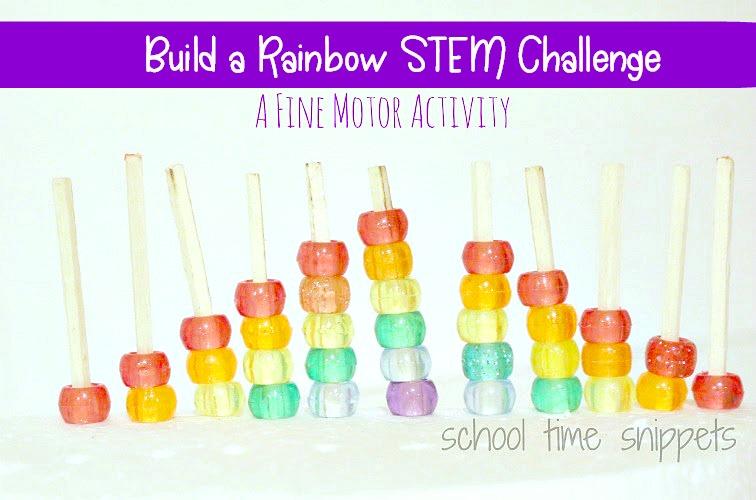 Rainbow STEM Activity