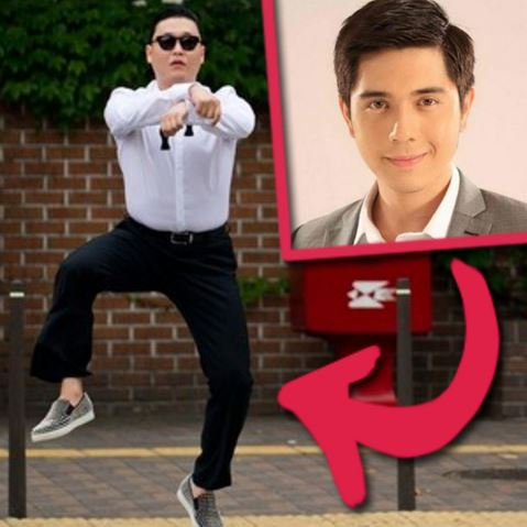 Paulo Avelino secretly practicing 'Gangnam Style' several hours a day! Check this out!