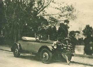 Didi Caillet e seu carro
