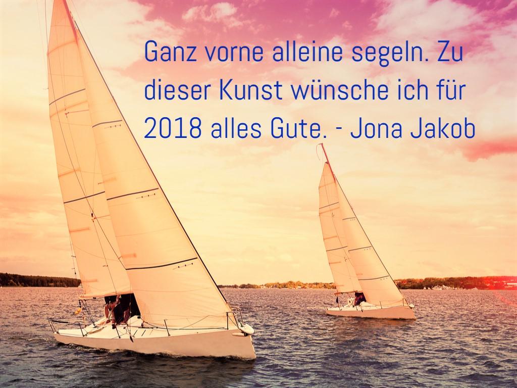 Jona Jakob - Blog für Coachees: Ihnen alles Gute zum neuen Jahr 2018.