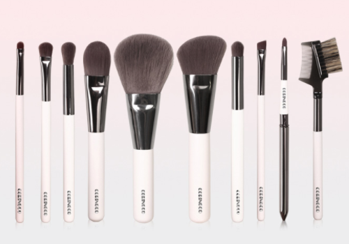 Ash Brown Professional 10 Brush Set