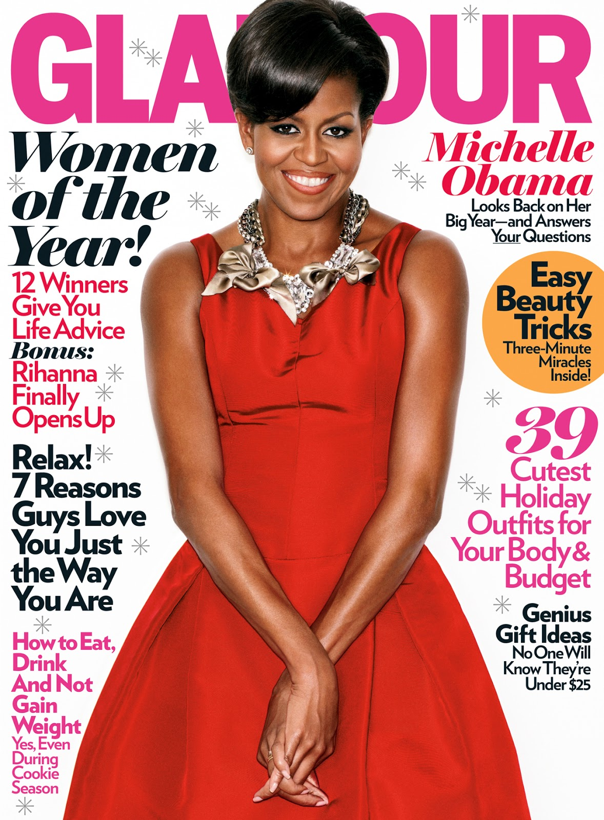 Editorial Glamour Makeup Professional Makeup Artist: Michelle Obama's Awesome Style