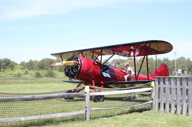 Biplanes | Katama Airport | Edgartown | Chichi Mary Blog