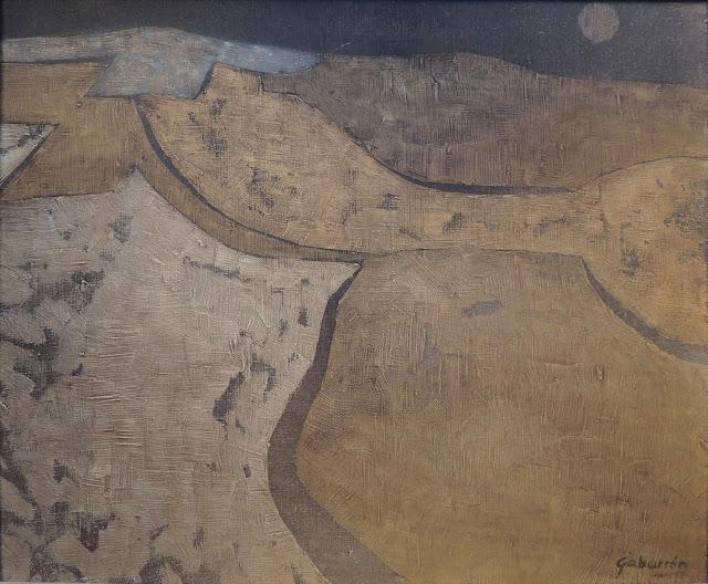 Cristóbal Gabarrón arte cuadro abstracto naturaleza paisaje