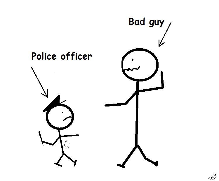 Tony's thoughts....: Police officer height