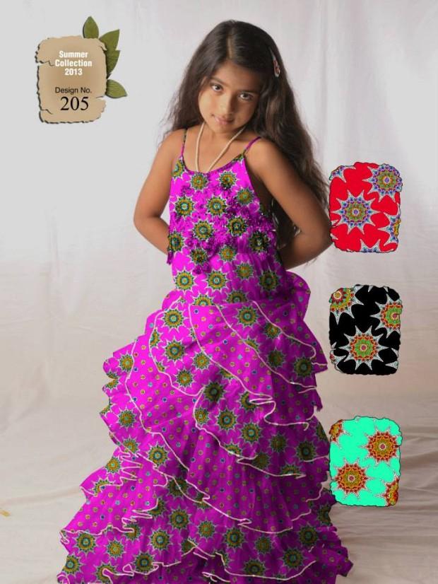 Mehndi Designs: Ajwa Kids-Child Summer Lawn Dress Collection 2013 by ...