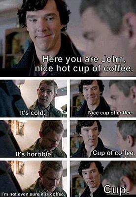 sherlock coffee