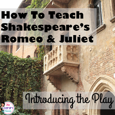 Whether you are a teacher tackling William Shakespeare's play Romeo and Juliet for the first time or you are a veteran looking to change how you've taught it in the past, here's four ways to hook your students as you introduce the play.