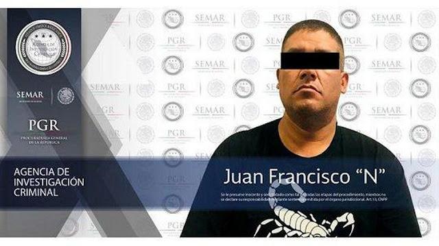 """""""Juan Pistolas"""", el reclutador y adiestrador de sicarios en el manejo de armas y tácticas operativas para CJNG."""
