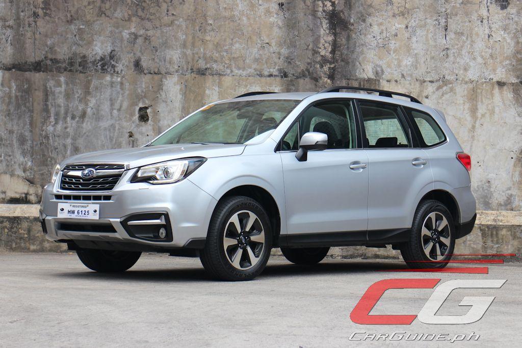 Review: 2017 Subaru Forester 2 0i-L | Philippine Car News