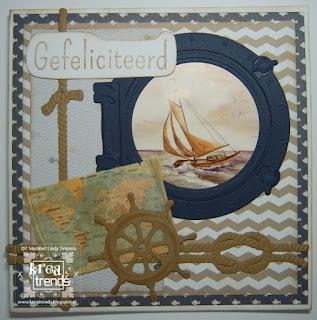 Kaart gemaakt van Marianne Design Creatables snijmallen
