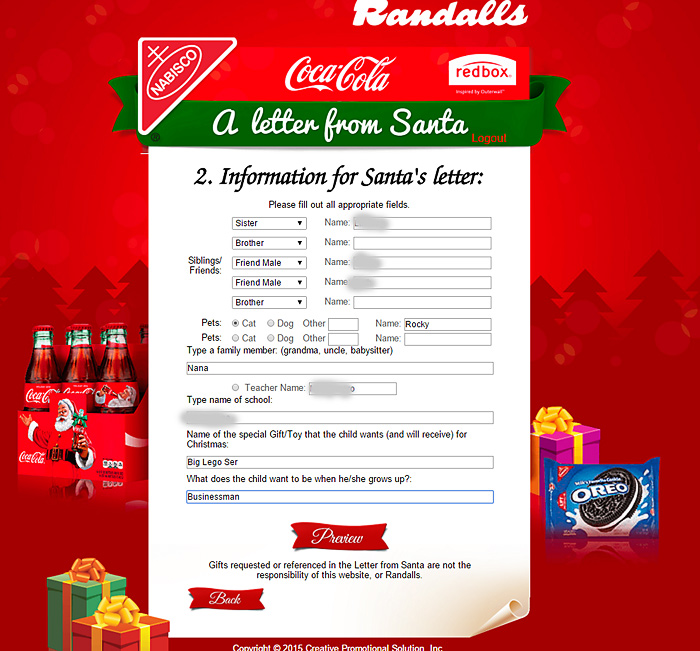 Get a Free Personalized Letter from Santa! - Scattered Thoughts of a