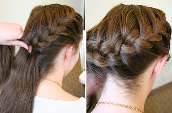 5 Easy Steps To A Side French Braid | Women Base