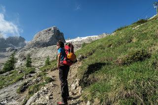 Marmolada Westgrat - geschichtsträchtige Königin der Dolomiten