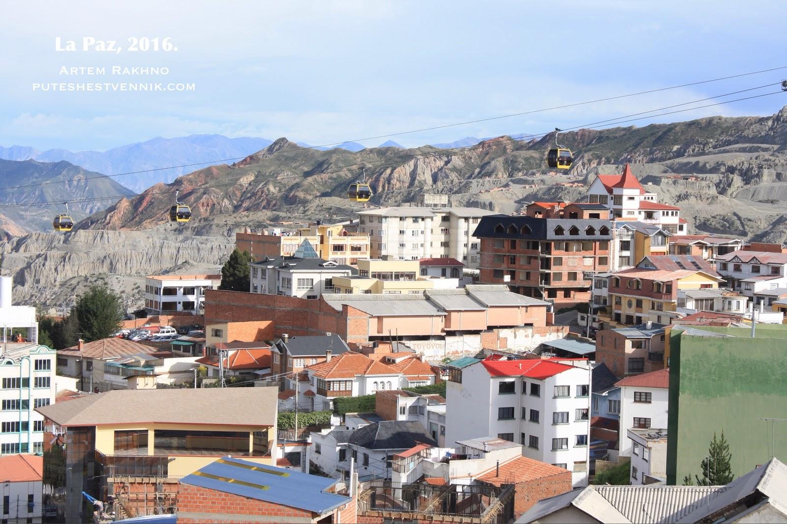 Фуникулер в Ла-Пасе